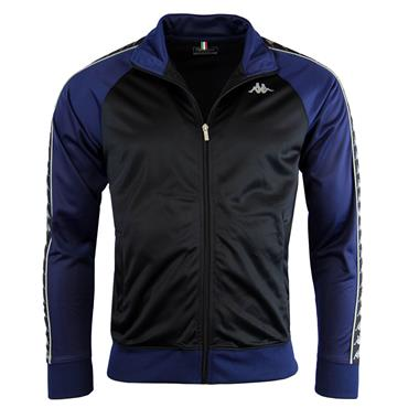 BRITANNIA TRACK MENS JACKET - BLACK