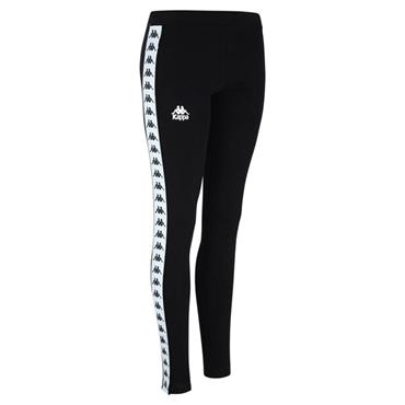Kappa Womens Authentic Leggings - Black/White
