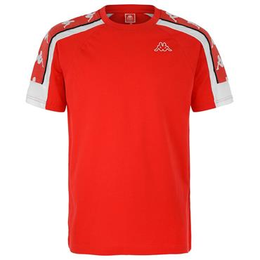 Kappa Mens Banda 10 T-Shirt - Red