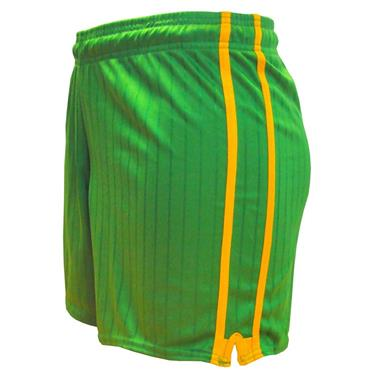 LEE SPORTS PAIRC SHORTS - GREEN/GOLD