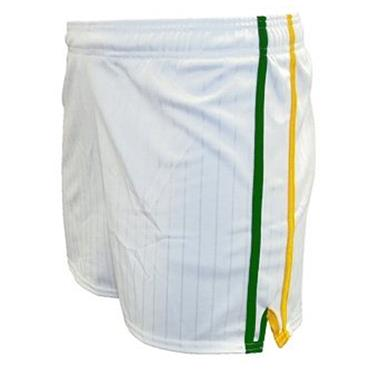 LEE SPORTS PAIRC SHORTS - WHITE/ GREEN /GOLD