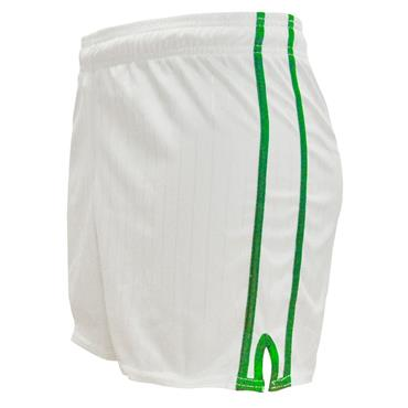LEE SPORTS PAIRC SHORTS - WHITE/GREEN