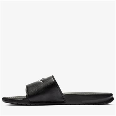 Nike Mens Benassi JDI Sliders - BLACK