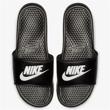 NIKE MENS BENASSI JDI SLIDER - BLACK