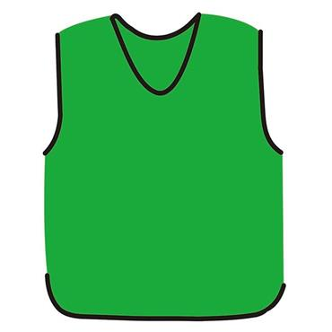Precision Mesh Training Bib - Green