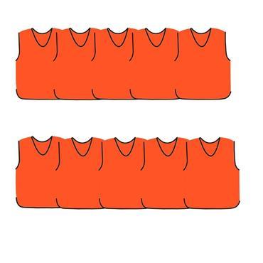 Precision Mesh Training Bib 10 Pack - Orange