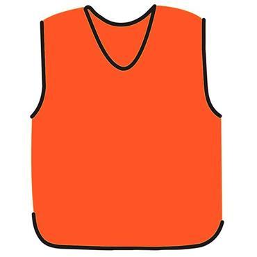 Precision Mesh Training Bib - Orange