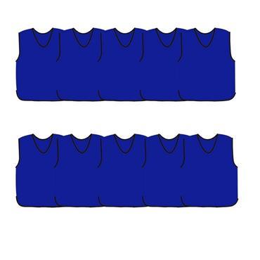 Precision Mesh Training Bib 10 Pack - Royal Blue