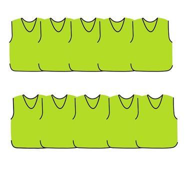 Precision Mesh Training Bib 10 Pack - Yellow