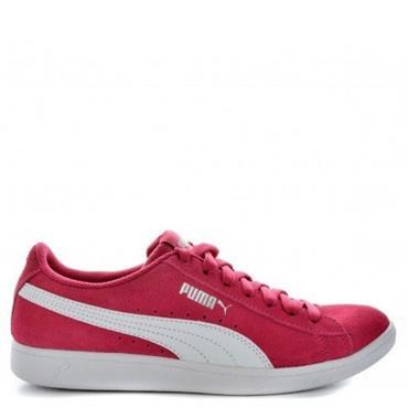 Puma Vicky Junior Shoes - Purple/White