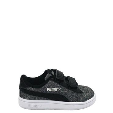 PUMA Toddler Smash V2 Glitz Glam - Black/Silver