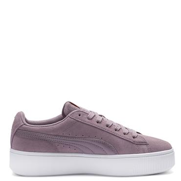 PUMA Womens Vicky Stacked SD Runners - Elderberry