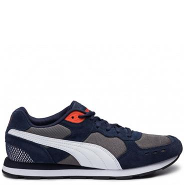 Puma Mens Vista Trainers - Navy/White