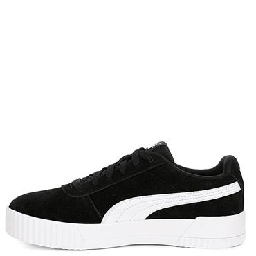 PUMA Womens Carina Runners - Black/White