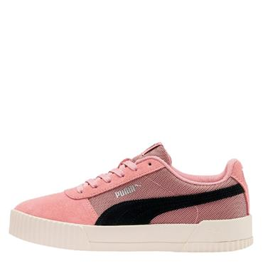 Puma Womens Carina LUX SD Trainers - Pink/Black