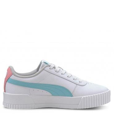 Puma Girls Carina Trainers - White