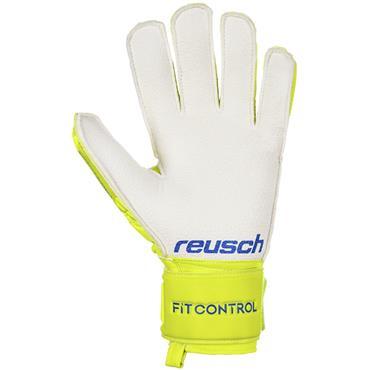 Reusch Adults RG Finger Support Glove - Yellow
