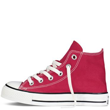 KIDS CHUCK TAYLOR ALL STAR HIGH TOPS - RED