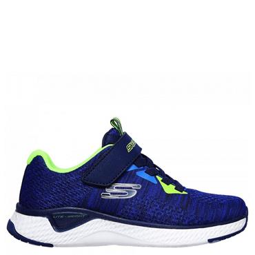 Skechers Boy's Solar Fuse Trainers - Navy