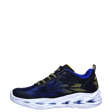 Skechers Boys Vortex Flash Trainers - Blue