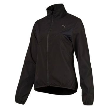 PUMA WOMENS WIND JACKET - BLACK