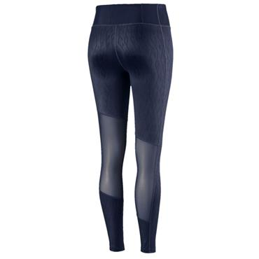 PUMA WOMENS ALWAYS ON GRAPHICS 7/8 TIGHT - NAVY