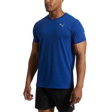 PUMA Mens Triblend T-Shirt - Blue