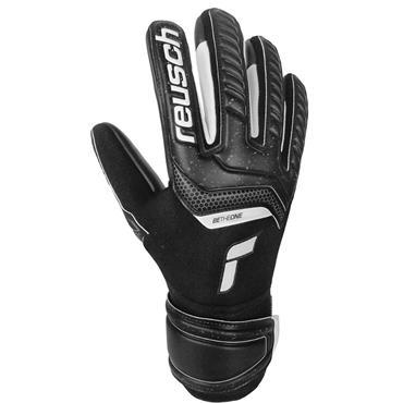 Reusch Senior Attrakt Infinity Goalkeeper Gloves - BLACK