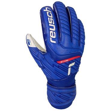 Reusch Senior Attrakt Grip Goalkeeper Gloves - BLUE