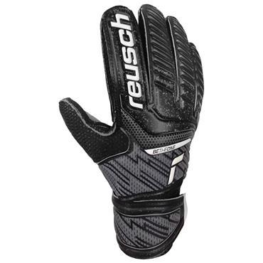 Reusch Junior Attrakt Resist Junior Goalkeeper Gloves - BLACK