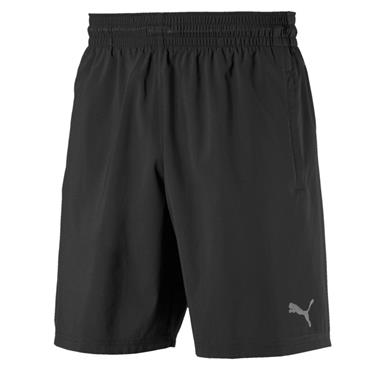 "PUMA Mens ACE Woven 9"" Shorts - Black"