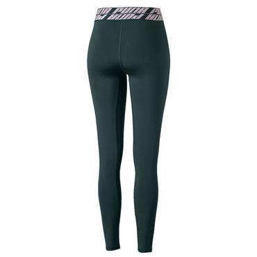 PUMA Womens Own It Full Tights - Green/White
