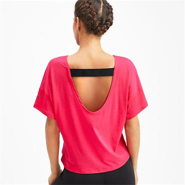 PUMA Womens Hit Feel It T-Shirt - Pink