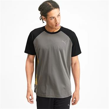 PUMA Mens Collective Loud T-Shirt - Grey