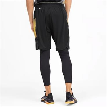 PUMA Mens Collective Graphic Shorts - BLACK