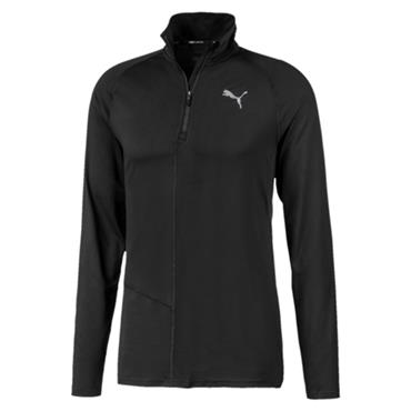Puma Mens Ignite Half Zip Top - BLACK