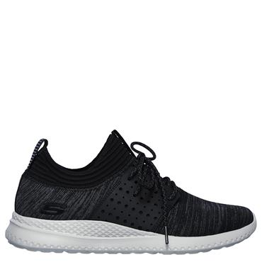 SKECHERS MENS MATERA KNOCTO TRAINERS - BLACK