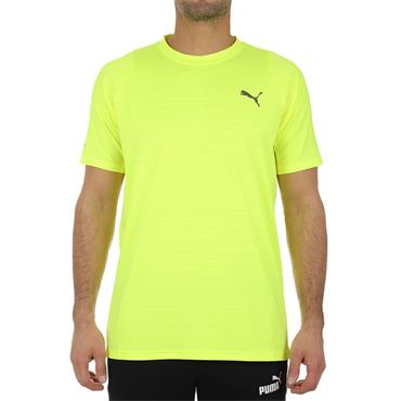 Puma Mens Power Thermo R T-Shirt - Yellow