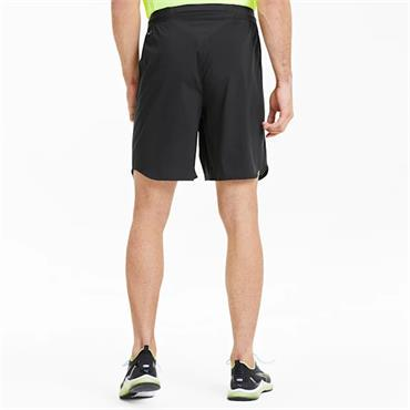 PUMA Mens Power Thermo R+ Vent Training Shorts - BLACK