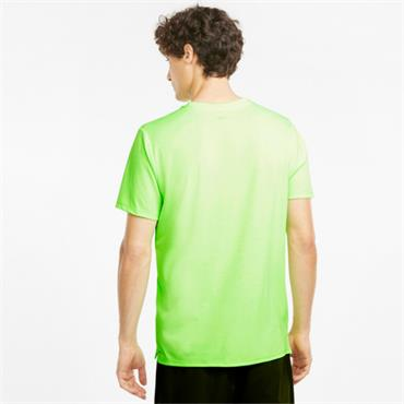 PUMA MENS FAVOURITE HEATHER T-SHIRT - Green