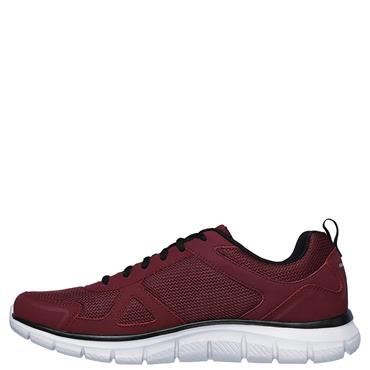 Skechers Mens Track Scloric Runners - Red/Black