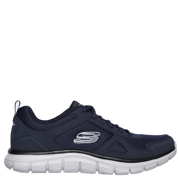 2395d05794a8 SKECHERS MENS TRACK SCLORIC TRAINERS - NAVY BLACK