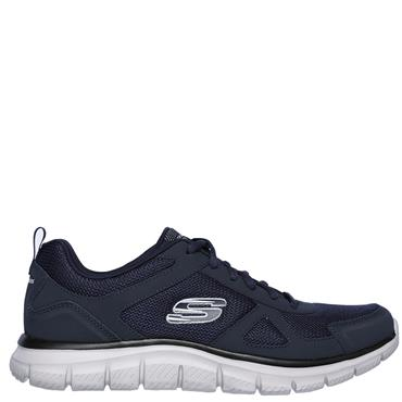 Skechers Mens Track Scloric Runners - Navy/Black