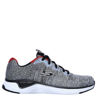 Skechers Mens Solar Fuse Trainers - Grey