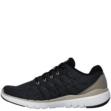 Skechers Mens Flex Advantage 3.0 Stally Runners - Grey/Black