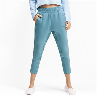 PUMA Womens Evostripe Sweatpants - Blue
