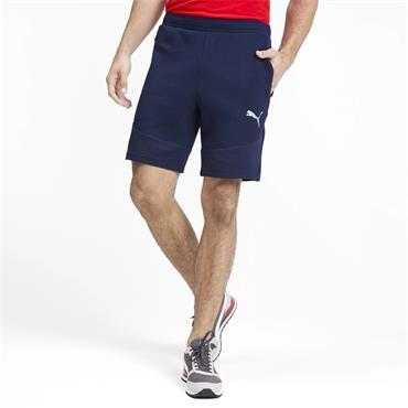 PUMA Mens Evostripe Shorts - Navy