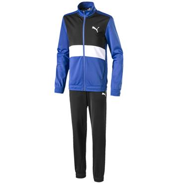 PUMA Boys Tracksuit - Black/Blue
