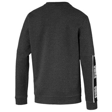 PUMA Mens Amplified Crew Neck Sweater - Grey