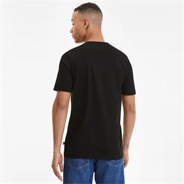 PUMA Mens Big Logo T-Shirt - BLACK